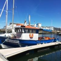 Le grand bleu au port
